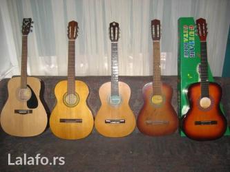 Kupujem akusticne gitare  i tehnicku robu - Beograd