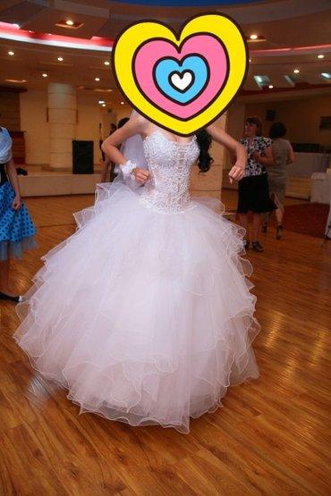 Свадебное платье размер 38-42 на рост в Бишкек