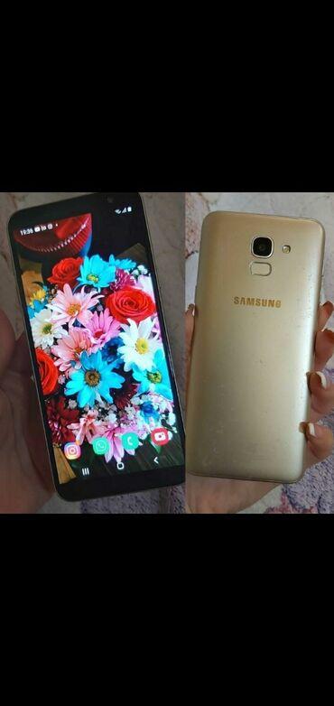 Samsung - Saray: İşlənmiş Samsung Galaxy J6 Plus 32 GB qızılı