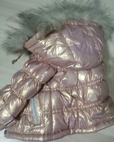 Dečija odeća i obuća - Kosovska Mitrovica: Novoooo! Zimska jakna za devojcice, jednom nosena! Velicina 12m. Punje