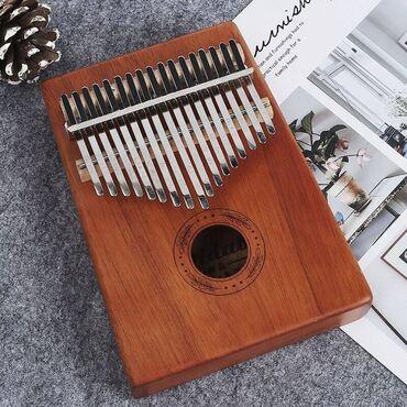 настройка пианино бишкек in Кыргызстан   ПИАНИНО, ФОРТЕПИАНО: Калимба 17 клавиш с обучающей книгой и молоток для настройки