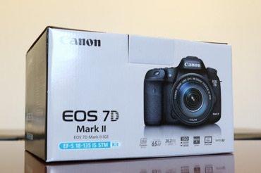 Bakı şəhərində Canon EOS 7 D mark ll KIT 18-135mm obyektivle birlikde.Nomrenin