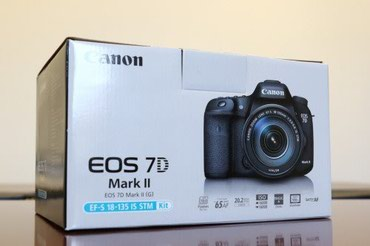 Canon EOS 7 D mark ll KIT 18-135mm obyektivle birlikde.Nomrenin в Bakı