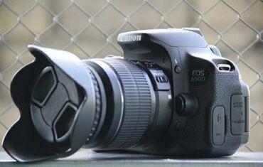 фотоаппарат зоркий в Азербайджан: Satilir qiymeti 450 manat Model ;Canon 650DLinza 18-55 mmAparat tezedi