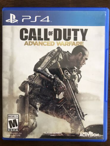 Продаю диск call of duty advanced warfare, диск в хорошем состоянии