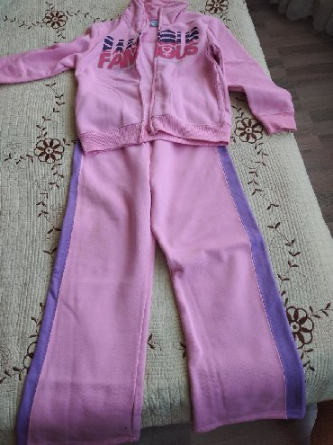 детская толстовка с начесом в Кыргызстан: Спорт костюм 9-10лет теплый с начесом новый