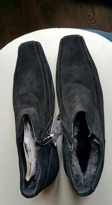 Bakı şəhərində Продаю новые мужские ботинки. размеры 40 и 43, верх-натуральная замша,