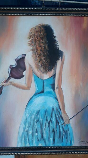 Продаю картину скрипачка или на бартер