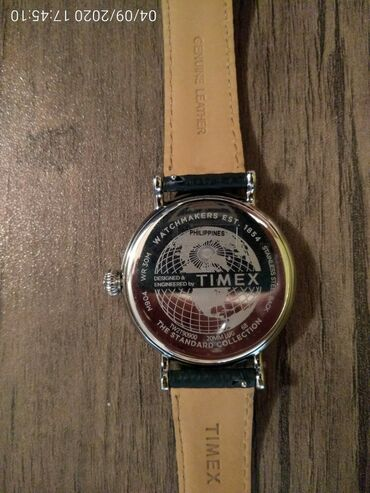 Gümüşü Kişi Qol saatları Timex