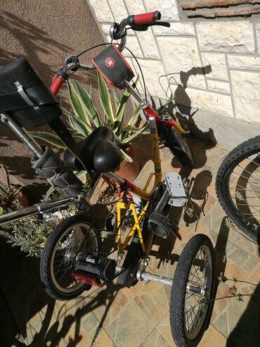 Posao u nemackoj - Srbija: Tricikal za decu sa posebnim potrebama, potrebno je zameniti kaiseve