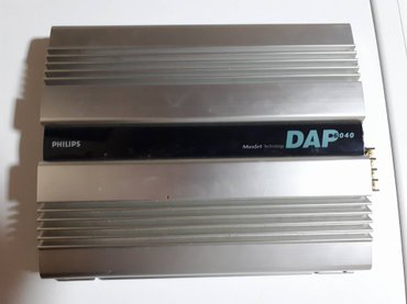 Auto pojačalo Philips DAP 6040 # of Channels 4 RMS Power (Watts Per - Indija