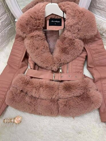 Zimska jakna sa krznom - Srbija: Zimska jakna Savrsena,topla,postavljena krznom 4800 S i M vel