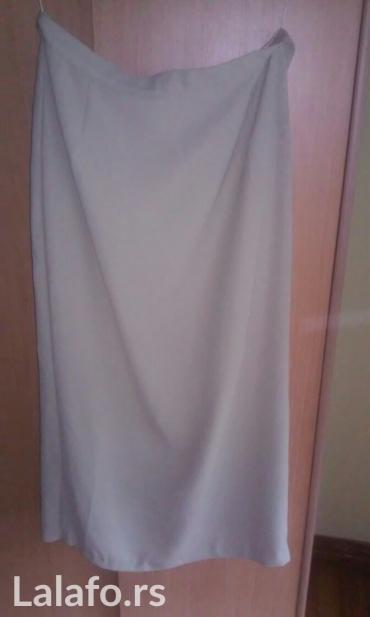 Lepa duga suknja,za svaku priliku,nova,uvek moderna drap boja,obim - Vrnjacka Banja
