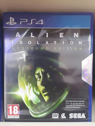 Ps4 üçün alien isolation oyunu. Sony PlayStation 4 oyunlarının və