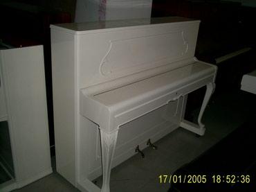 Bakı şəhərində Almaniya Cexiya Rusiya Ag Pianolarin satişi