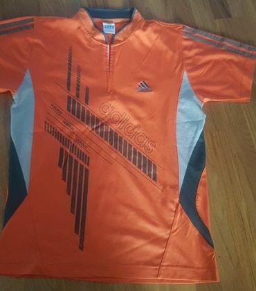 Adidas original sportska majica narandzasta, za sport ili trening. - Belgrade