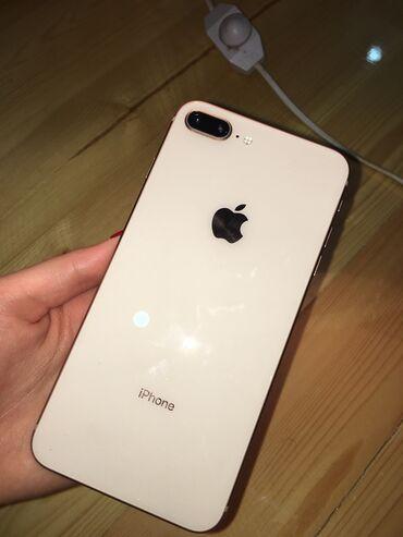 чехол iphone 8 в Азербайджан: Б/У iPhone 8 Plus 64 ГБ Розовое золото (Rose Gold)