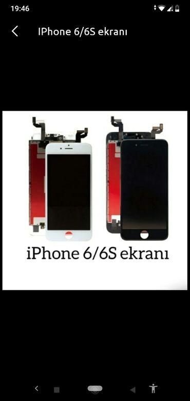 İphone 6/6s ekranları 40 AZNiPhoneAyfoniPad SamsungHuaweiLGXiaomiNot