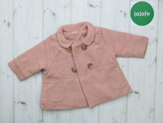Детское легкое трикотажное пальто    Длина: 31 см Рукав: 21 см Пог: 30