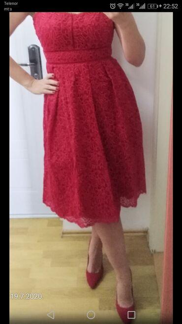 Potpuno nova haljina, sa etiketom, vel M, od fantasticne čipke
