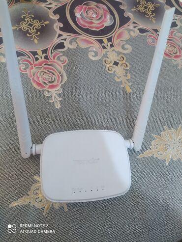 adsl - Azərbaycan: Tenda Adsl Router wifi sürətləndirici 300 mbps 2 antena tam işlək