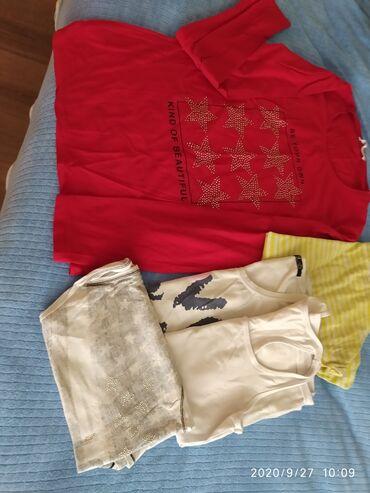 Polo majice - Srbija: Paket majica od 6 komada dug i kratak rukav sve za 300 dinara plus