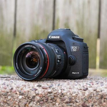 Canon Eos 5D mark 3 ela veziyyetdedir.Probegi 15 mindir.Tecili в Qusar