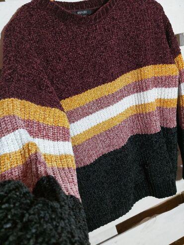 Ženska džemperi - Srbija: 🤎Esmara dzemper. Oversize model. Mekan i topao. Mogu nositi velicine