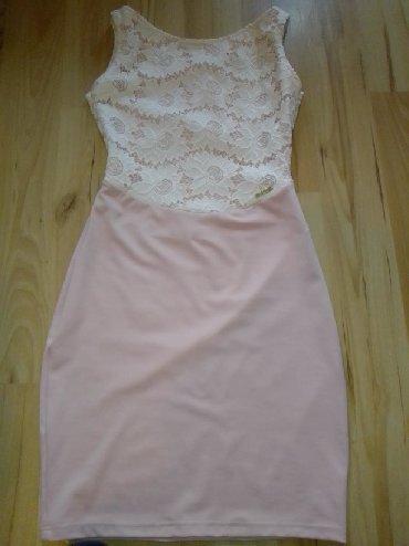 Haljine - Paracin: Blondy nova haljinicaPrelepo stoji,sa otvorenim ledjimaSamo je etiketa