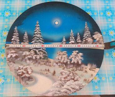 старинную монету в Кыргызстан: Продаю: настенная тарелка (гипсовая с блёстками) в хорошем состоянии -