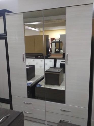 шкаф-бар в Кыргызстан: Шифоньер глянцевый акрилвысота 2.10ширина 1.50глубина 52смшаар ичине