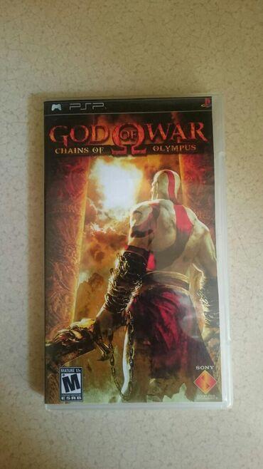 Video oyunlar və konsollar Azərbaycanda: PSP üçün God of War chains of Olympus oyunu