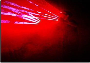 Laser man show – лазерное шоу в Бишкек