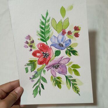 """Рисунок """"Весна""""Картина подарок для души!Самый креативный и"""