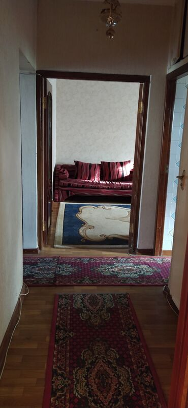 Долгосрочная аренда квартир - 3 комнаты - Бишкек: 3 комнаты, 76 кв. м С мебелью
