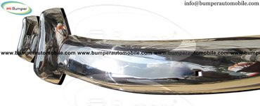 Volvo PV 544 Euro year (1958-1965) bumpers stainless steel in Amargadhi  - photo 3