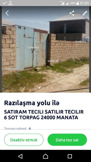 Bakı şəhərində Suraxani rayinu Hovsan qesebesinde torpag satilir, denize yaxindir