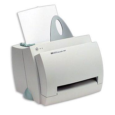 принтер hp laser jet 1018 в Кыргызстан: Продою принтер древний HP 1100