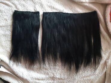Prirodna kosa 53cm dužina kosa cena 4500din