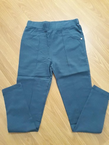 Pantalone-helanke-tamno-borda-bojaa - Srbija: Pantalone-helanke. kao nove