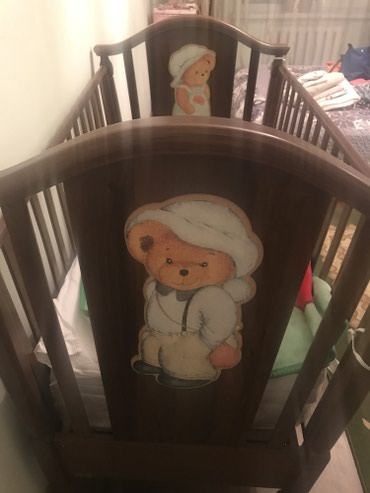 Продается детская кроватка до 3-4 в Бишкек