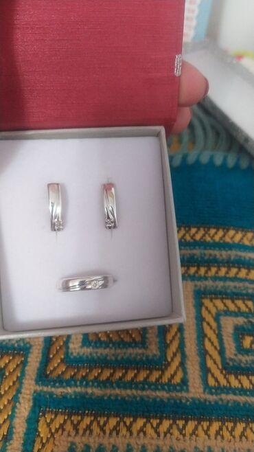 туалетный столик с подсветкой бишкек в Кыргызстан: Серебро комплект элита с бриллиантами комплект цепочка с подвеской