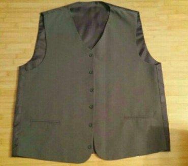 Svetlo sivo odelo noseno doslovno dva puta, sako , pantalone, prsluk i - Knjazevac