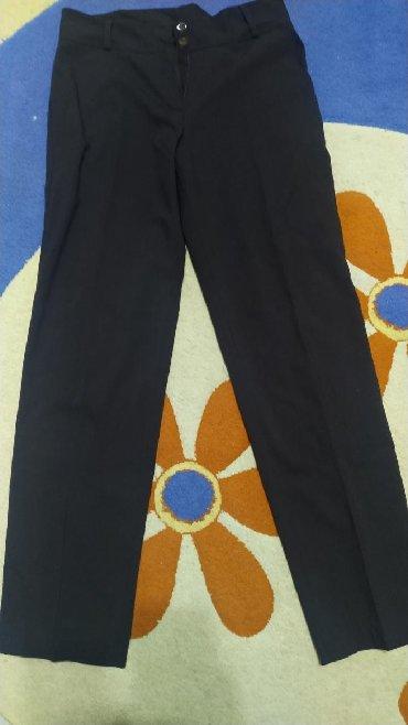 демисезонные куртки женские больших размеров в Кыргызстан: Женские брюки, классические, размер 46-48, новые, цвет коричневый