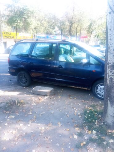 фольксваген шаран бишкек in Кыргызстан   УНАА ТЕТИКТЕРИ: Volkswagen Sharan 2 л. 2000   222222 км