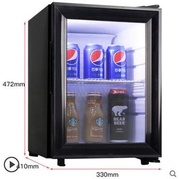 | Новый Холодильник-витрина | Черный холодильник