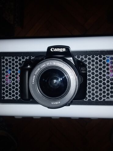 Fotoaparatlar - Gəncə: Salam canon 1100 d aparatı tekce aparatin ozu 170 manatada razilasa