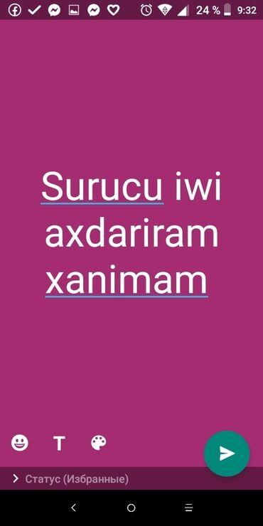 surucu isi teklif edirem 2018 - Azərbaycan: Sürücü İşi Axtarıram xanımam. Pravaynan birlikte 13 il tecrübem var