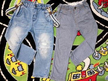 Dečije Farmerke i Pantalone | Pozarevac: Pantalone - vel. 98! Dva para Zara Boys pantalona - baggy model