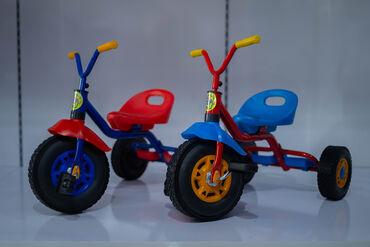 Yaş aralığı: 2-5 yaşa qədər. Tutacaqlı və pedallıdır.Keyfiyyətli